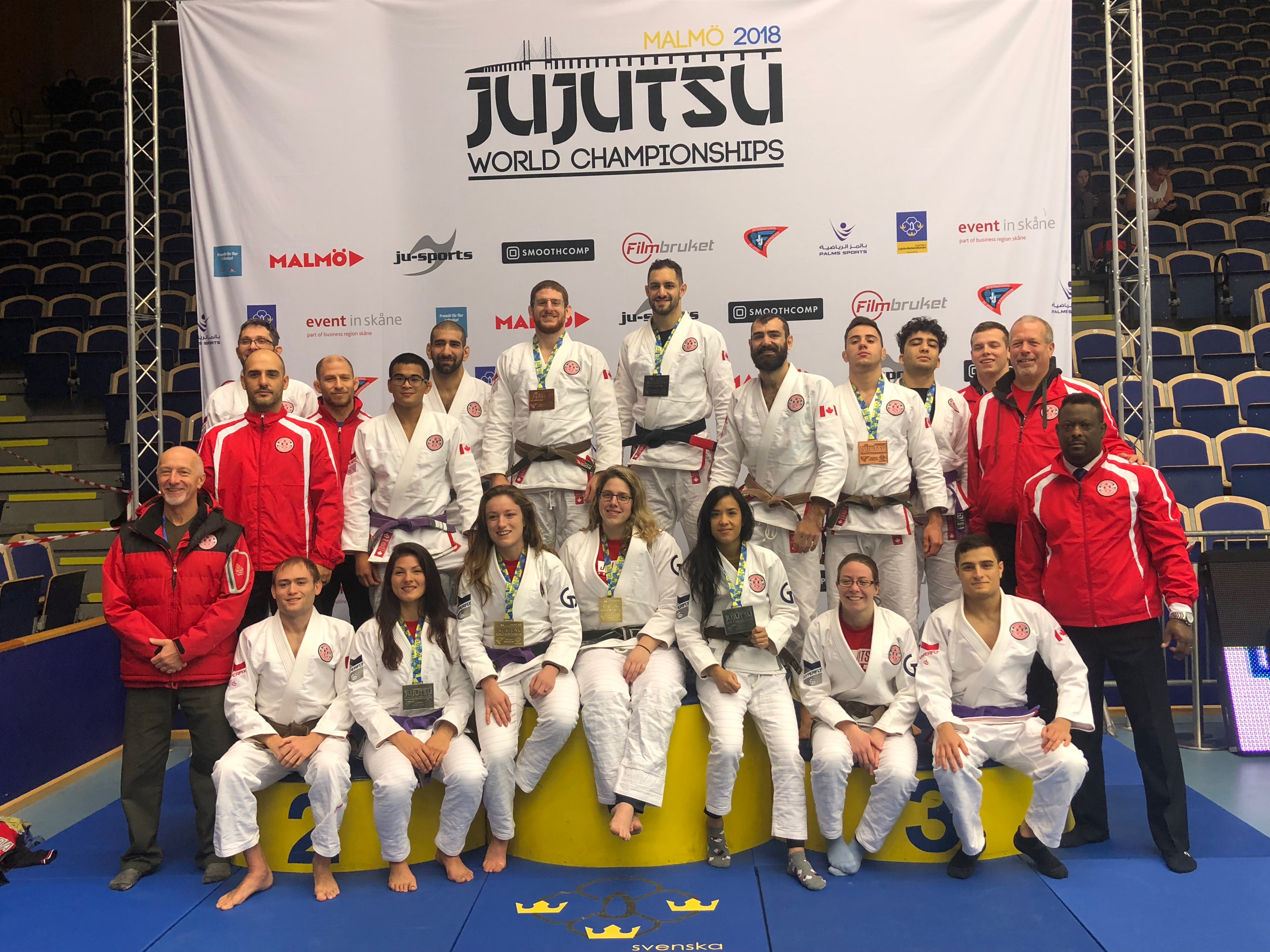 Canada Shines At 2018 JJIF World Championships in Sweden
